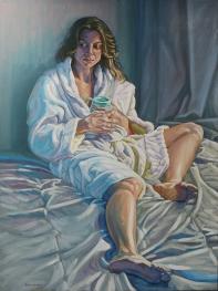 "oil on canvas 36""x48"""