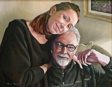 "oil on canvas 16""x20"""