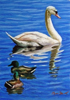 """*SOLD pastel on board 9""""x12"""""""