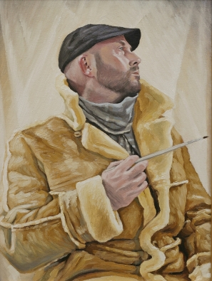 "oil on canvas 16""x12"""